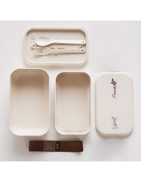 Spice Amarillo Bio Duo Food warmer Bento box portable schiscetta ... -