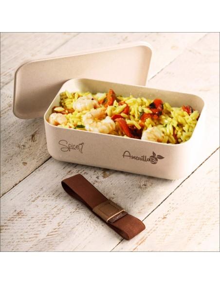 Spice Amarillo Bio Bento Box Portatile portavivande Termico Materia... -