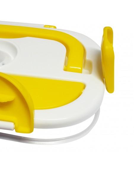 Vaschetta estraibile e Forchetta in acciaio Inox 18/10 Guarnizione rimovibile per una migliore pulizia Vaschetta porta-a
