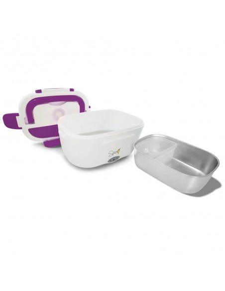 SPICE Amarillo Inox Scaldavivande Portatile Lunch Box con vaschetta... -