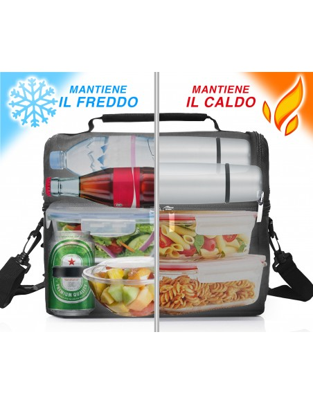 SPICE Set Thermal Bag with Shoulder Strap 8 L + Amarillo E ...-