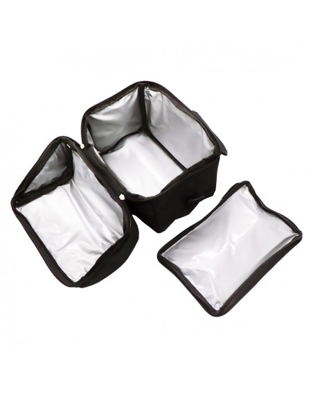 Set Borsa Termica + Bottiglia Termica Acciaio Inox 500 ml + Scaldav... -