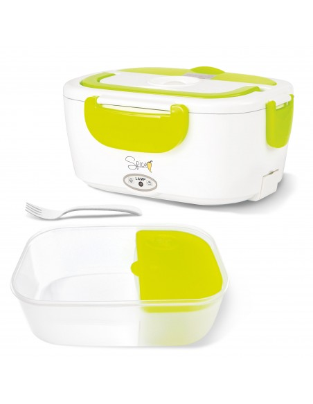 Vaschetta estraibile in plastica per alimenti 40 W di potenza Cavo incluso 80 cm - Forchetta inclusa Set 3 Posate: Forc