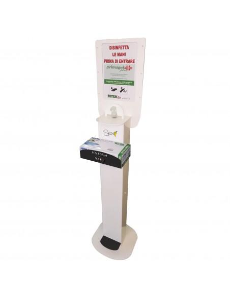 Spice Totem Gel Premium by MAPA - totem porta dispenser gel disinfe... -