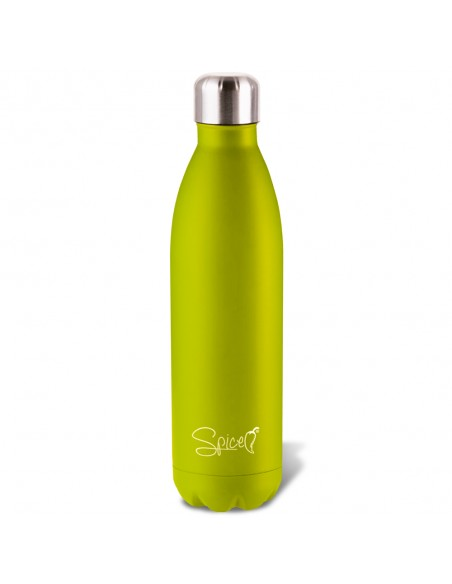 Spice Borsa Termica capacità 8 L + Bottiglia Termica Verde Acciaio ... -