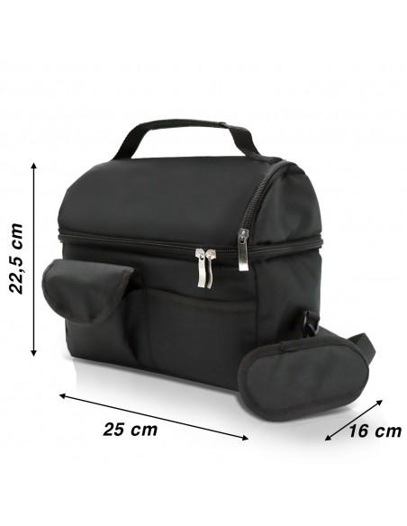 Spice Thermal Bag capacity 8 L + Thermal Bottle Black Steel I ...-