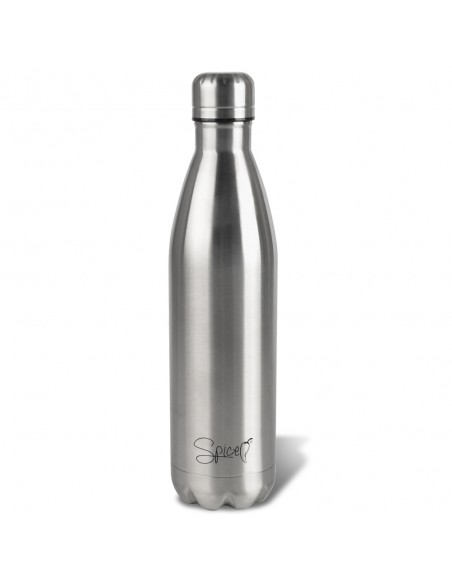 2 Bottiglie750 +500 ml in Acciaio inossidabile di qualità: le bottiglie SPICE sono in acciaio inossidabile 18/8, prive