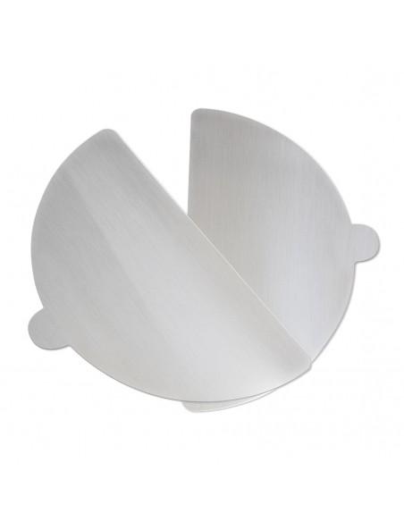 Pack 2 Palette Alluminio + Fornetto per Pizza Caliente 400 gradi re... -