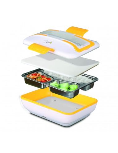 Spice Amarillo Inox Trio Food Warmer Lunch Box 40 W 1liter + Set ... -