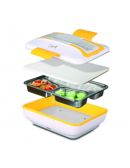 Spice Amarillo Inox Trio Scaldavivande Lunch Box 40 W 1litro + Set ... -