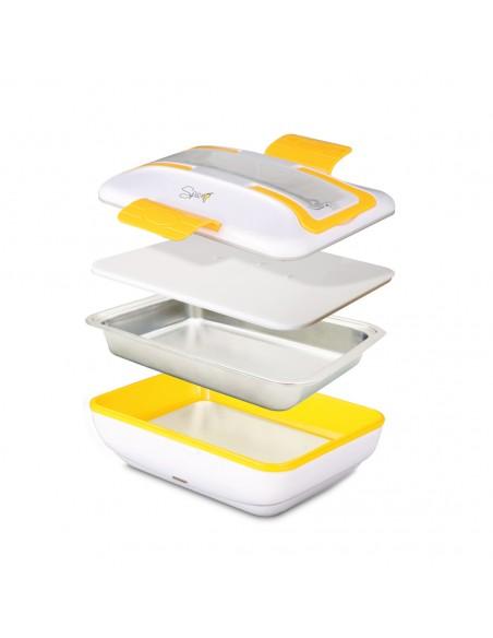 Spice Amarillo Inox Trio Scaldavivande Lunch Box 40 W 1litro + Set ... -