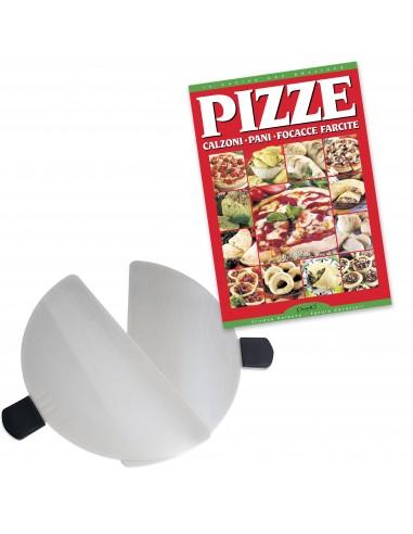 Lot de 2 pelles à pizza en inox +...