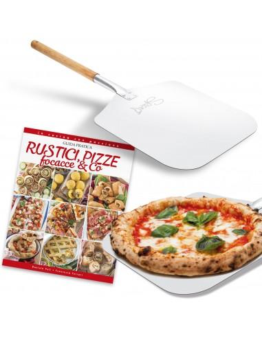 Set Paletta pizza rettangolare (31 x...