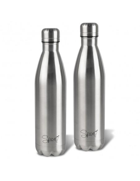 Set 2 Stainless Steel Thermal Bottles 500 ml + 500 ml SPP048-SET1500 -