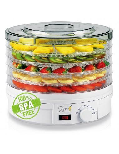 Spice - Teseko food dehydrator 5 compartments t ...-