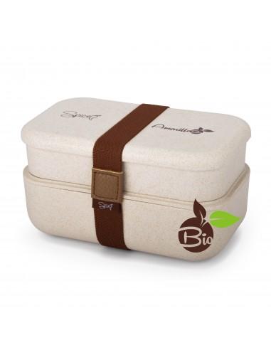 Spice Amarillo Bio Duo Scaldavivande Bento box schiscetta portatile... -