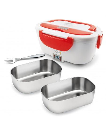Spice Amarillo Inox Digital Food Warmer Portable Lunch Box 40 W ... -