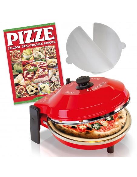 Set 3x1 Oven Pizza Spice Caliente ✓ Recipe book ✓ 2 Aluminum stirrers -