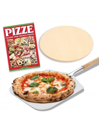 Pizzaschaufel-Set 31x35x66 cm + Stein...