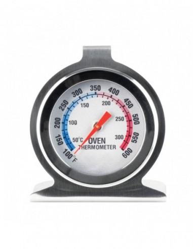 Termometro da forno acciaio inox calore caldo freddo da appendere appoggiare agganciare agganciabile appendibile appoggi