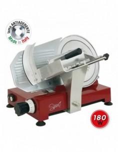 Giri lama: 290 rpm. Lama da 275 mm Spessore di taglio massimo: 16 mm Lama Made in Italy in alluminio pressofuso Piano d'
