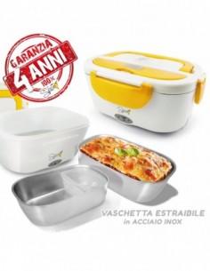 Garanzia 4 anni Italia a domicilio Incluso contenitore porta alimenti Vaschetta estraibile in acciaio inossidabile 1,5 l