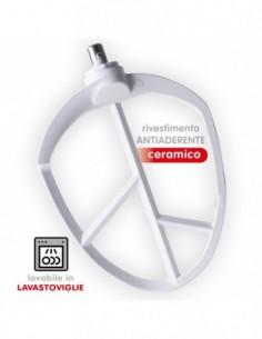 Rivestimento ceramico antiaderente Lavabile in lavastoviglie Compatibile con SPICE Emilia SPP007 Attacco Maschio sullìa