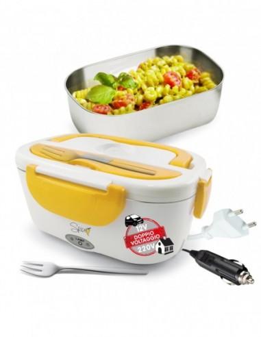 Spice Amarillo inox Plus lunch box portatile Doppio Voltaggio 220V-... -