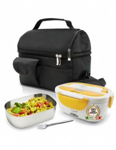 Set Insulated Bag + Spice Amarillo inox Electric food warmer + F ...-