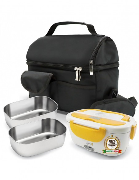 Spice Set Insulated Bag with shoulder strap + Amarillo stainless steel ...-