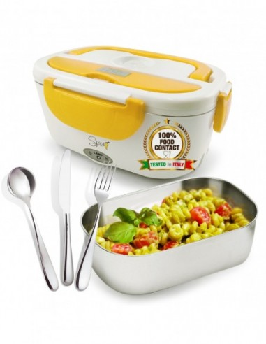 Spice Amarillo Inox chafing dish electric lunch box 40 W tub ...-