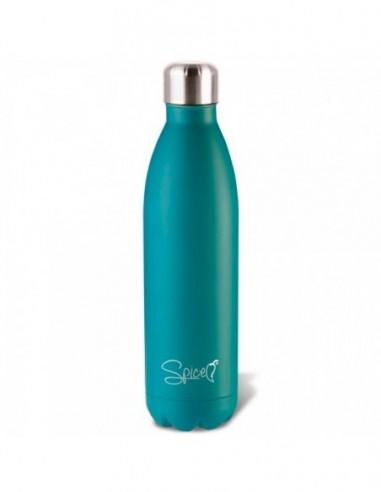 Borraccia termica in Acciaio Inox 750 ml verde acqua Spice SPP058-750W -