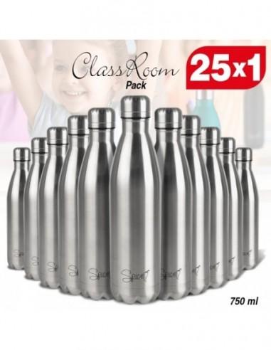 Set 25 Borracce Termiche in Acciaio Inox 750 ml | Spice ClassRoom -