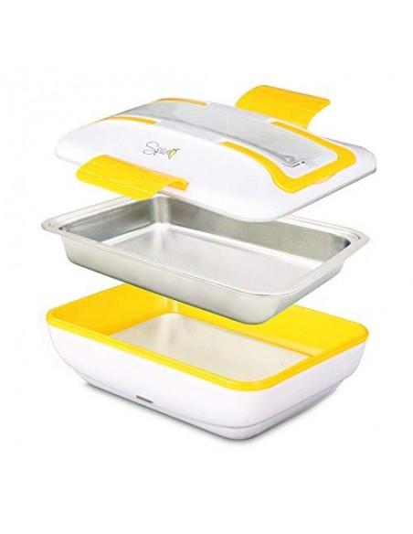 Spice - Amarillo inox Trio Plus Portable warming lunch Box D ... -