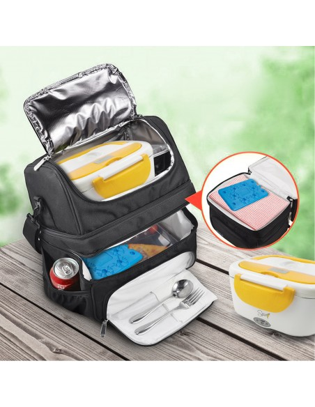 Spice Insulated Bag 22 L capacity with Lunch Shoulder Strap + Set 3 ...-