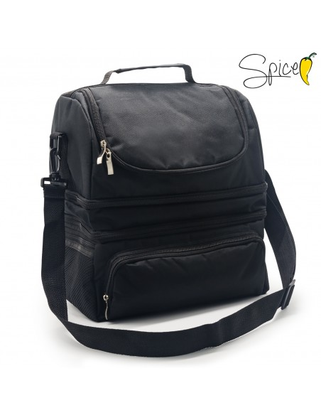 Spice Thermal Bag 22 L capacity Lunch Box + Thermal Bottle ... -